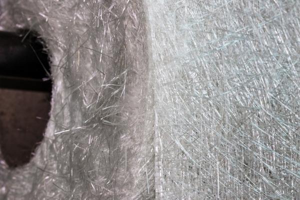 Fiberglass Weave Fibers on Roll