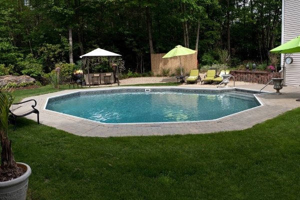 In Ground Pool In Backyard