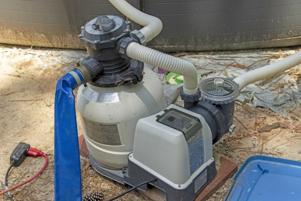 Sand Pool Filter and Pump